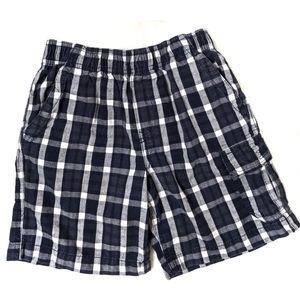🌞Basic Editions Boys Plaid Shorts Size Small 6/7